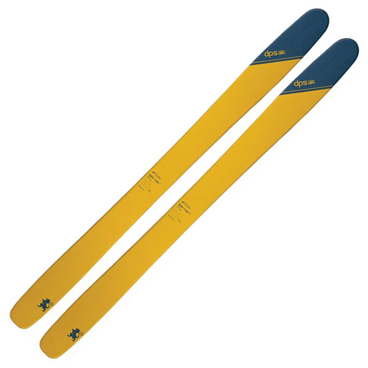 DPS Wailer 112 RP2 Tour1 Ski in tribeca yellow